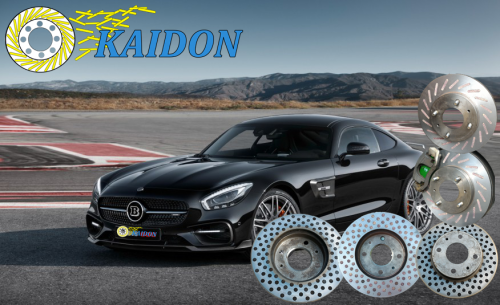 Brake Disc Rotor installed with friction materials to increase the level of resistance