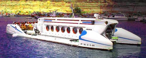 Tourist Submarine Underwater Travel
