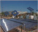 electricity generating  unit by using solar water heater