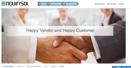 Portal for Vendor Relationship Management