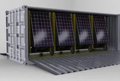 Commercial Modular Solar Plant