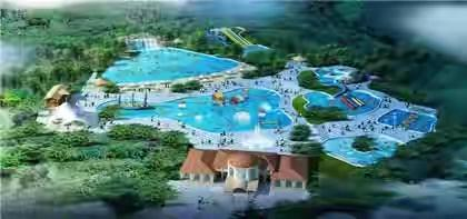 WATER THEME PARK WITH RESORTS & SHOPPING CENTER