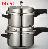 Double Decker Pressure Cooker & Double Decker Electric Pressure Cooker
