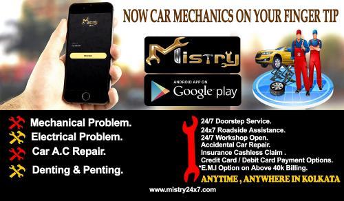 Mistryapp is 24x7 Mechanic Provider , App based Mechanic Provider ,