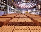 Plant for the production of ceramic facing bricks and blocks with a capacity of 60 million bricks or