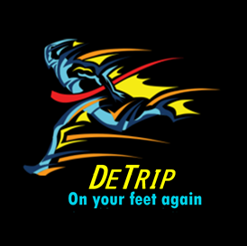 """DETRIP® """"THE ALCOHOL COUNTERACTOR"""" - """"ON YOUR FEET AGAIN""""."""