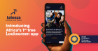 Teleeza, free mobile content aggregation and advertising platform on the smart phone's Lockscreen